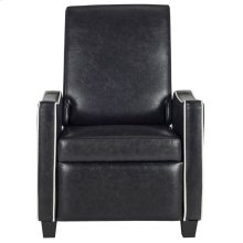 Holden Recliner Chair - Black / White
