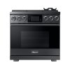 "Dacor 36"" Pro Gas Range, Graphite Stainless Steel, Natural Gas"