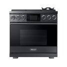 "36"" Pro Gas Range, Graphite Stainless Steel, Natural Gas Product Image"