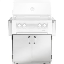 30-In. BBQ Cart with Two Doors
