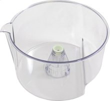 Container For citrus juicer accessory