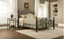 Grand Isle King Bed Set W/ Rails