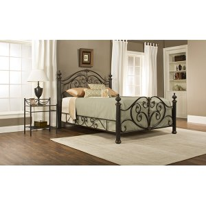 Hillsdale FurnitureGrand Isle King Bed Set W/ Rails