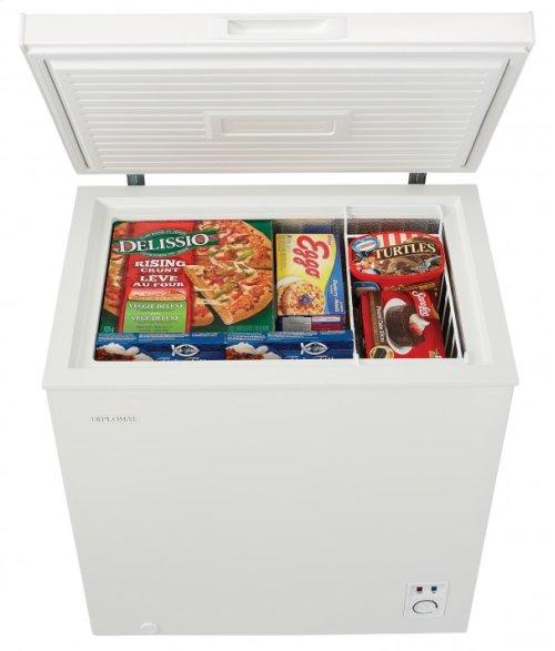 Diplomat 5.0 cu.ft. Chest Freezer
