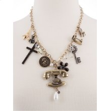 BTQ MJ Chatterbox Trinkets Necklace