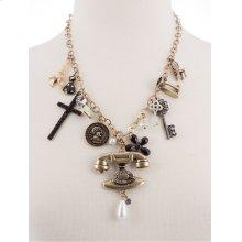 BTQ MJ Chatterbox Trinkets Necklace
