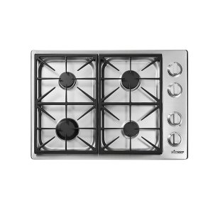 "DacorHeritage 30"" Professional Gas Cooktop, Liquid Propane/High Altitude"