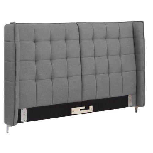 Goleta Grey Upholstered California King Bed