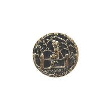Kate Greenaway - Antique Brass