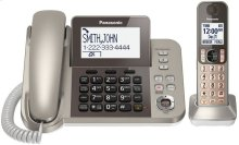 Corded/Cordless Phone and Answering Machine- 1 Cordless Handset