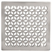 "Forever Brass - PVD 6"" Square Shower Drain"