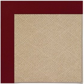 Creative Concepts-Cane Wicker Canvas Burgundy