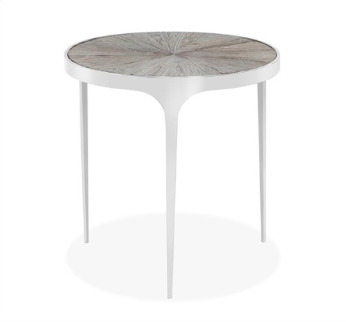 Devin Side Table - Icy Grey
