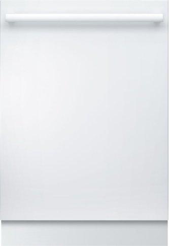"800 Series 24"" Bar Handle Dishwasher 800 Series- White SHX878WD2N"