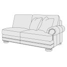 Foster Right Arm Loveseat in Molasses (780) Product Image
