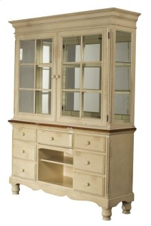 Wilshire Buffet and Hutch - Antique White