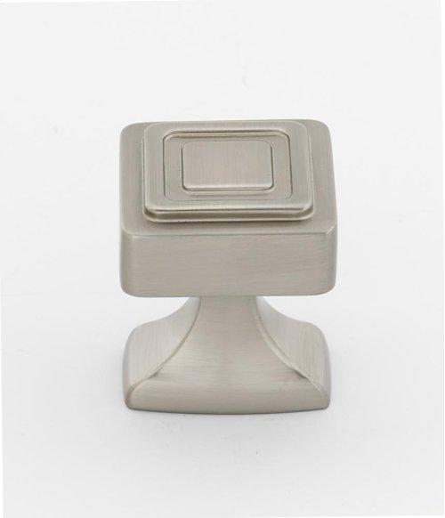 Cube Knob A985-14 - Satin Nickel