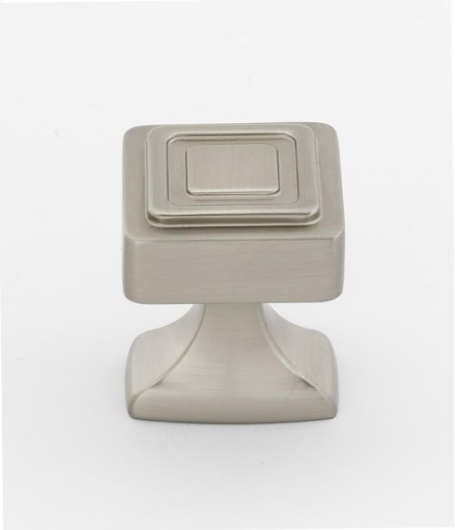 Cube Knob A985-14 - Satin Nickel