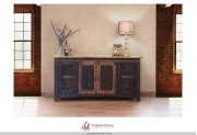 """70"""" TV Stand w/4 doors & Shelves Product Image"""