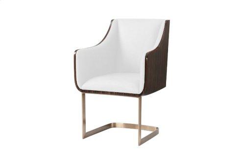 Engage Dining Chair Ii, #plain# - Veneered