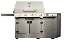 Kalamazoo K900GS Gas Free-Standing Grill with Side Burner