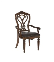 Arm Chair-Leather Seat - KD