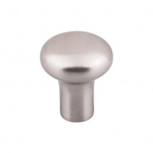 Aspen II Round Knob 1 1/8 Inch - Brushed Satin Nickel