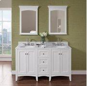 "Shaker Americana 60"" Modular Vanity - Polar White Product Image"