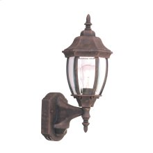 """6"""" Wall Lantern - 3-in-1 Motion Detector in Autumn Gold"""