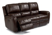 Hammond Leather Power Reclining Sofa