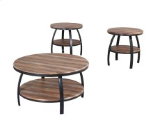 Emerald Home Carson 3-piece Accent Table Set Natural Wood T226-3pk