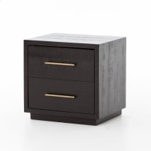 Burnished Black Finish Suki Nightstand