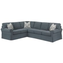 Masquerade Slipcover Sectional Sofa