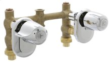 Chrome Gerber® Classics Two Handle Shower Only Fitting