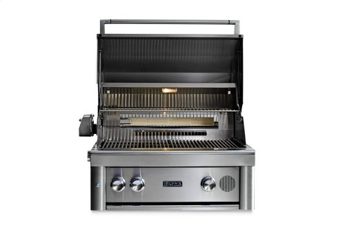 """30"""" Lynx Professional Built In Smart Grill with Rotisserie, LP"""