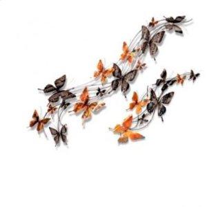 Spring Butterflies II - Chrome