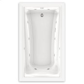 Green Tea 60x36 inch EcoSilent Whirlpool - White