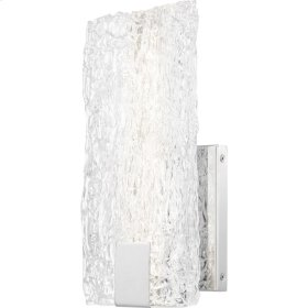 Winter Wall Sconce in Polished Chrome