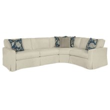 320 LSF Sofa Hex Wedge 320 RSF 1/2 Sofa