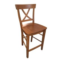 """X-back Counter Stool"