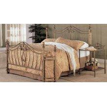 Sydney Traditional Antique Brushed Eastern King Bed