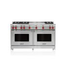 "60"" Gas Range - 6 Burners and French Top Product Image"