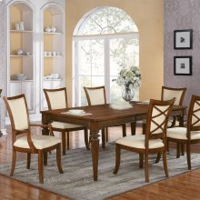 Windward Bay - Rectangular Dining Table - Warm Rum Finish