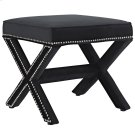 Rivet Bench in Black Product Image