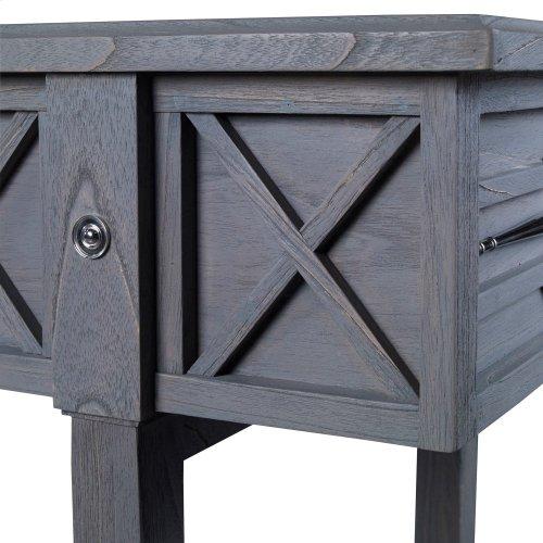 Spindle Shuffleboard Table - Grey
