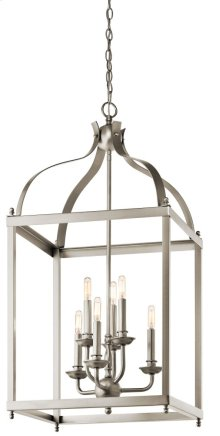 Larkin 6 Light Foyer Pendant Brushed Nickel