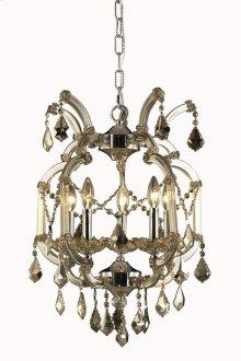 2800 Maria Theresa Collection Hanging Fixture Golden Teak Finish