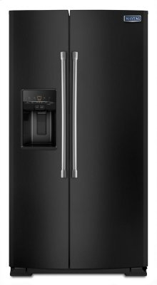 36-inch Wide Side-by-Side Refrigerator with External Ice and Water - 26 cu. ft.