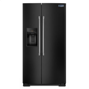 Maytag36-inch Wide Side-by-Side Refrigerator with External Ice and Water - 26 cu. ft.