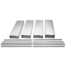 Island Hood Chimney Extension Kit - Stainless Steel